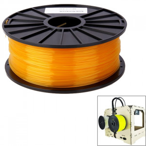 Imprimantes 3D transparentes PLA 3.0 mm, environ 115m (orange) SH031E871-20