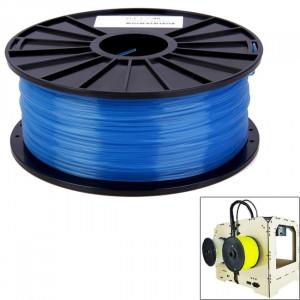 Imprimantes 3D transparentes PLA 3.0 mm, environ 115m (bleu) SH031L1020-20