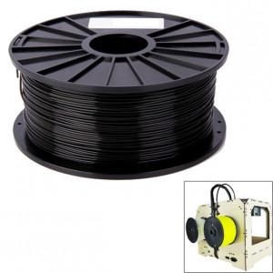 Filaments d'imprimante 3D couleur série ABS 1,75 mm, environ 395 m (noir) SH040B1319-20