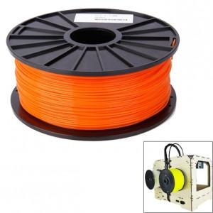 Filaments d'imprimante 3D série ABS couleur 1,75 mm, environ 395 m (orange) SH040E1518-20