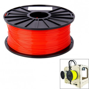 Filaments d'imprimante 3D série ABS couleur 1,75 mm, environ 395 m (rouge) SH040R1542-20