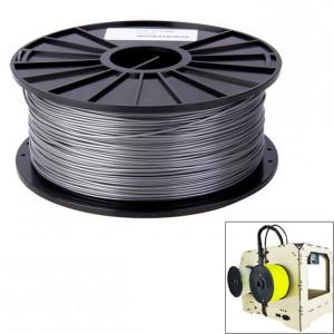 Filaments d'imprimante 3D série ABS couleur 1,75 mm, environ 395 m (argent) SH040S708-20