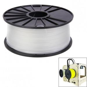 Filaments d'imprimante 3D couleur série ABS 1,75 mm, environ 395 m (transparent) SH040T857-20
