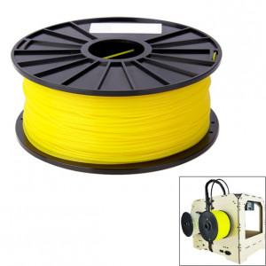 Filaments d'imprimante 3D couleur série ABS 1,75 mm, environ 395 m (jaune) SH040Y1971-20