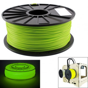 Filaments d'imprimante 3D lumineux d'ABS 3,0 mm, environ 135 m (vert) SH044G51-20
