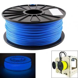 Filaments d'imprimante 3D lumineux d'ABS 3,0 mm, environ 135m (bleu) SH044L588-20