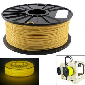 Filaments d'imprimante 3D lumineux d'ABS 3,0 mm, environ 135 m (jaune) SH044Y685-20