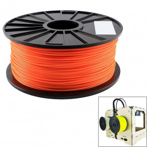 Filaments d'imprimante 3D fluorescents d'ABS 3.0 millimètres, environ 135m (orange) SH045E779-20