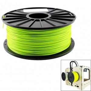 Filaments d'imprimante 3D fluorescents d'ABS 3.0 millimètres, environ 135m (vert) SH045G234-20
