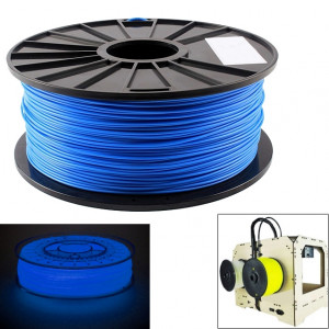 Filament d'imprimante 3D lumineux PLA 1,75 mm, environ 345 m (bleu) SH046L1129-20