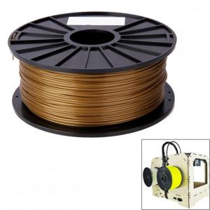 Filaments 3D pour imprimantes couleur série PLA 3,0 mm, environ 115 m (or) SH048J11-20