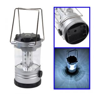 Lampe extérieure de camping, lumière réglable d'éclat de 12 LED avec la boussole, livraison aléatoire de couleur SH11061287-20