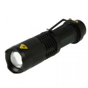 Lampe de poche à DEL SK98, 3 modes, Cree XM-L T6 LED, flux lumineux: 1000lm, longueur: 11.5cm (lumière blanche) SH0410173-20