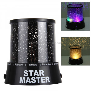 Lampe de projecteur Sky Star Master Night Light (noir) SL01523-20