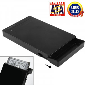 Boîtier externe SATA HDD / SDD de 2,5 pouces, sans outil, interface USB 3.0 (noir) S201211855-20