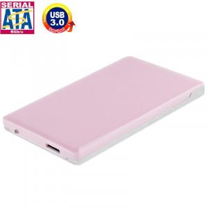 Boîtier externe HDD SATA & IDE haute vitesse de 2,5 pouces, prise en charge USB 3.0 (rose) SH2503203-20