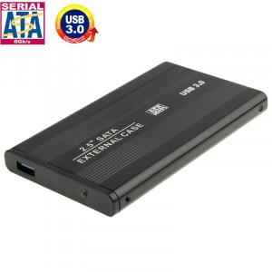 Boîtier externe HDD SATA à haute vitesse de 2,5 pouces, prise en charge USB 3.0 (noir) SH519H1749-20