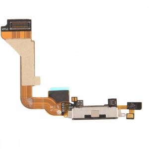iPartsAcheter pour iPhone 4 Tail Connector Chargeur Câble Flex (Noir) SI0703803-20
