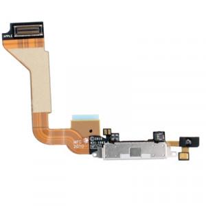 iPartsAcheter pour iPhone 4 câble de câble de chargeur de connecteur de queue d'origine (blanc) SI703W1948-20