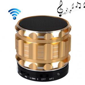 S28 Enceinte portable stéréo Bluetooth avec fonction mains libres (or) SH028J1800-20