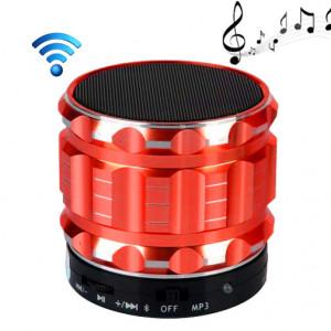 S28 Enceinte portable stéréo Bluetooth avec fonction mains libres (rouge) SH028R301-20
