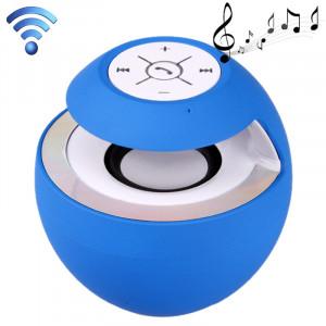 Haut-parleur attrayant de Bluetooth 3.0 + EDR de style de cygne pour l'iPad / iPhone / autre téléphone portable de Bluetooth, fonction de Handfree de soutien, BTS-16 (bleu) SH809L759-20