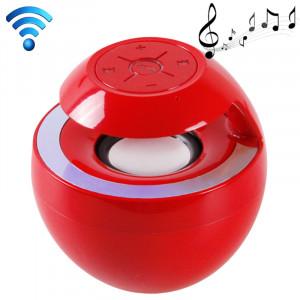 Haut-parleur attrayant de Bluetooth 3.0 + EDR de style de cygne pour l'iPad / iPhone / autre téléphone portable de Bluetooth, fonction de Handfree de soutien, BTS-16 (rouge) SH809R498-20