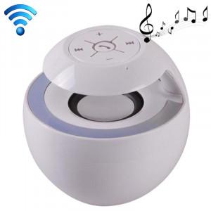 Haut-parleur attrayant de Bluetooth 3.0 + EDR de style de cygne pour l'iPad / iPhone / autre téléphone portable de Bluetooth, fonction de Handfree de soutien, BTS-16 (blanc) SH809W810-20
