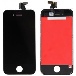 iPartsAcheter 3 en 1 pour iPhone 4 (LCD + Frame + Touch Pad) Digitizer Assemblée (Noir) SI799B838-20