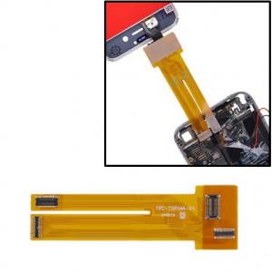 Câble d'extension d'essai d'écran tactile d'affichage à cristaux liquides, câble prolongateur d'essai de câble de câble d'affichage à cristaux liquides pour l'iPhone 4 et 4S SC97001785-20