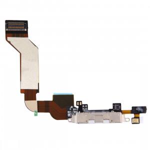 iPartsBuy Original Dock Connector Port Flex Câble pour iPhone 4S SI0706734-20