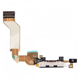 iPartsBuy Original Dock Connector Port de charge Câble Flex pour iPhone 4S (Noir) SI706B1998-20