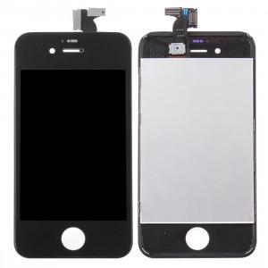 iPartsAcheter 3 en 1 pour iPhone 4S (LCD + Frame + Touch Pad) Assemblage de numériseur (Noir) SI717B1058-20