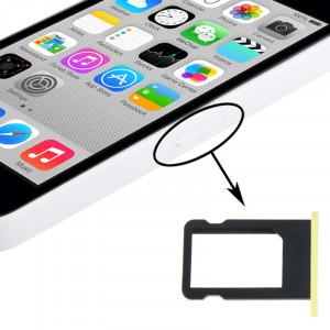 Titulaire de plateau de carte SIM pour iPhone 5C (jaune) ST325Y465-20