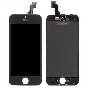iPartsAcheter 3 en 1 pour iPhone 5C (Original LCD + Cadre + Touch Pad) Digitizer Assemblée (Noir) SI0357383-20