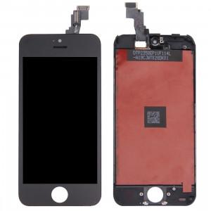 iPartsAcheter 3 en 1 pour iPhone 5C (LCD + Frame + Touch Pad) Digitizer Assemblée (Noir) SI0713168-20