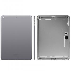 Couverture arrière / panneau arrière d'origine pour iPad Air (gris foncé) SC74DG1724-20