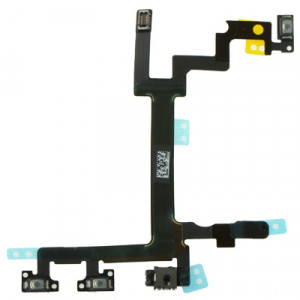 iPartsBuy Original Switch Flex Cable (Volume du bouton d'alimentation et Silent Switch Clavier) pour iPhone 5 SI0702497-20