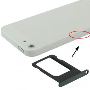 iPartsBuy Original Titulaire de la carte SIM pour iPhone 5 (Noir) SI704B1336-20