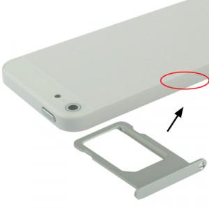 iPartsBuy Original Titulaire de la carte SIM pour iPhone 5 (Argent) SI704S1181-20