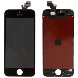 iPartsBuy 3 en 1 pour iPhone 5 (Original LCD + Cadre LCD + Touch Pad) Assemblage de numériseur (Noir) SI713B1226-20