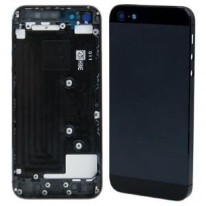 iPartsBuy couverture arrière d'origine pour iPhone 5 (noir) SI20BL1843-20