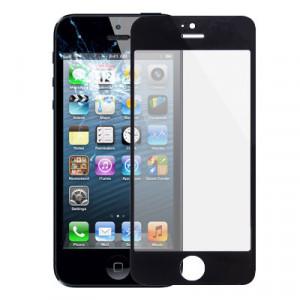 Lentille extérieure en verre pour iPhone 5 et 5S (noir) SL728B992-20