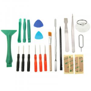 21 en 1 Kit d'outils de réparation de téléphone d'ouverture pour les téléphones mobiles S25792894-20
