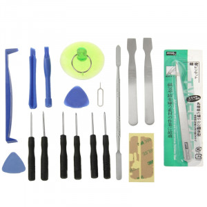 Trousse d'outils de réparation de téléphone 18 en 1 pour téléphones mobiles ST57931440-20