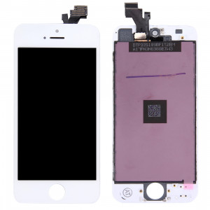 iPartsAcheter 3 en 1 pour iPhone 5 (LCD + Frame + Touch Pad) Assemblage Digitizer (Blanc) SI58041363-20