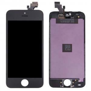 iPartsAcheter 3 en 1 pour iPhone 5 (LCD + Frame + Touch Pad) Digitizer Assemblée (Noir) SI804B1303-20