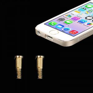 20 PCS iPartsAcheter pour les vis d'ancrage d'origine iPhone 5 / 5S (or) S280841267-20