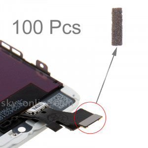 100 PCS iPartsBuy coton original bloc pour l'écran tactile de l'iPhone 5 S181021447-20