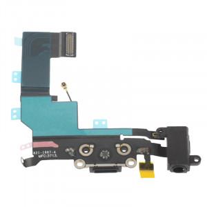 iPartsAcheter pour iPhone 5S Connecteur de charge d'origine + Câble Flex Jack SI00061147-20